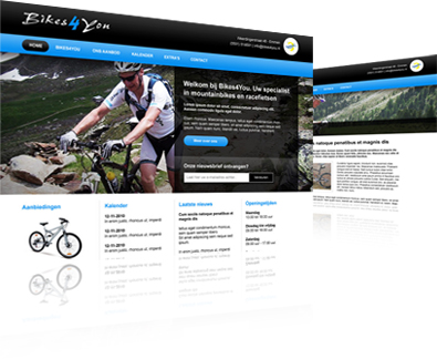 Website ontwikkeling Bikes4You
